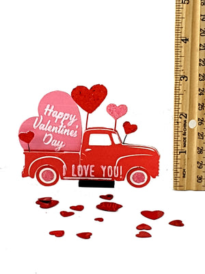 Romantic I Love You Happy Valentine's Day Pop Up Greeting Card - TheLastWordBish.com