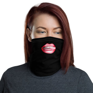 Women'Face Mask, Neck Gaiter with Sexy Lips - TheLastWordBish.com