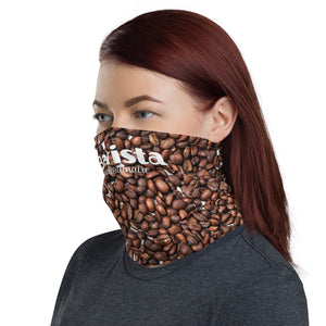 Barista Face Mask, Coffee Beans Neck Gaiter - TheLastWordBish.com