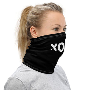 XOXO Face Mask, Love and Kisses Neck Gaiter - TheLastWordBish.com