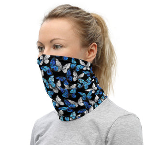 Butterfly Face Mask, Neck Gaiter, Washable Face Mask - TheLastWordBish.com
