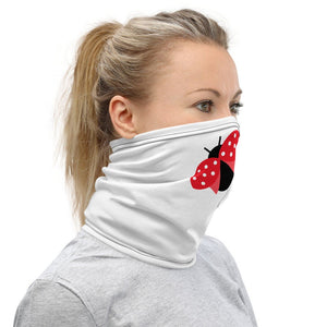 Ladybug Face Mask, Neck Gaiter, Women's Face Mask - TheLastWordBish.com