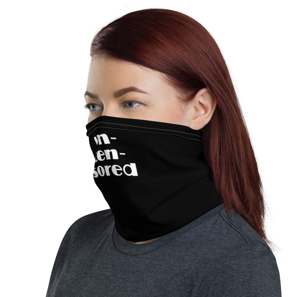 Funny Face Mask, Neck Gaiter - TheLastWordBish.com