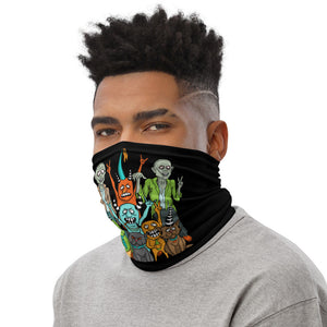 Zombie Face Mask, Neck Gaiter with Zombie Friends - TheLastWordBish.com