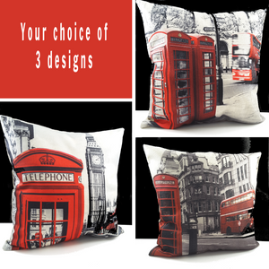 Decorator London Scenery Pillow Covers - TheLastWordBish.com
