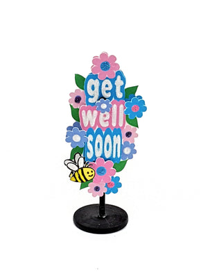 Get Well Soon Message in a Bottle - TheLastWordBish.com