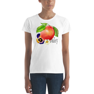 Juicy Peach Women's T-shirt - TheLastWordBish.com