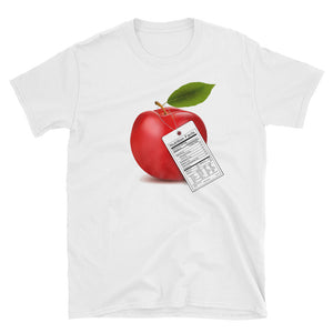 Apple on Unisex T-Shirt - Free Shipping! - TheLastWordBish.com