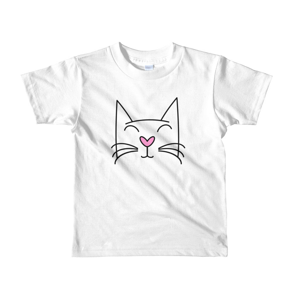 Pretty Kitty Kid's Unisex T-Shirt - TheLastWordBish.com