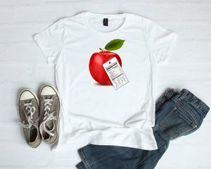 Not Your Typical Apple on Unisex T-Shirt