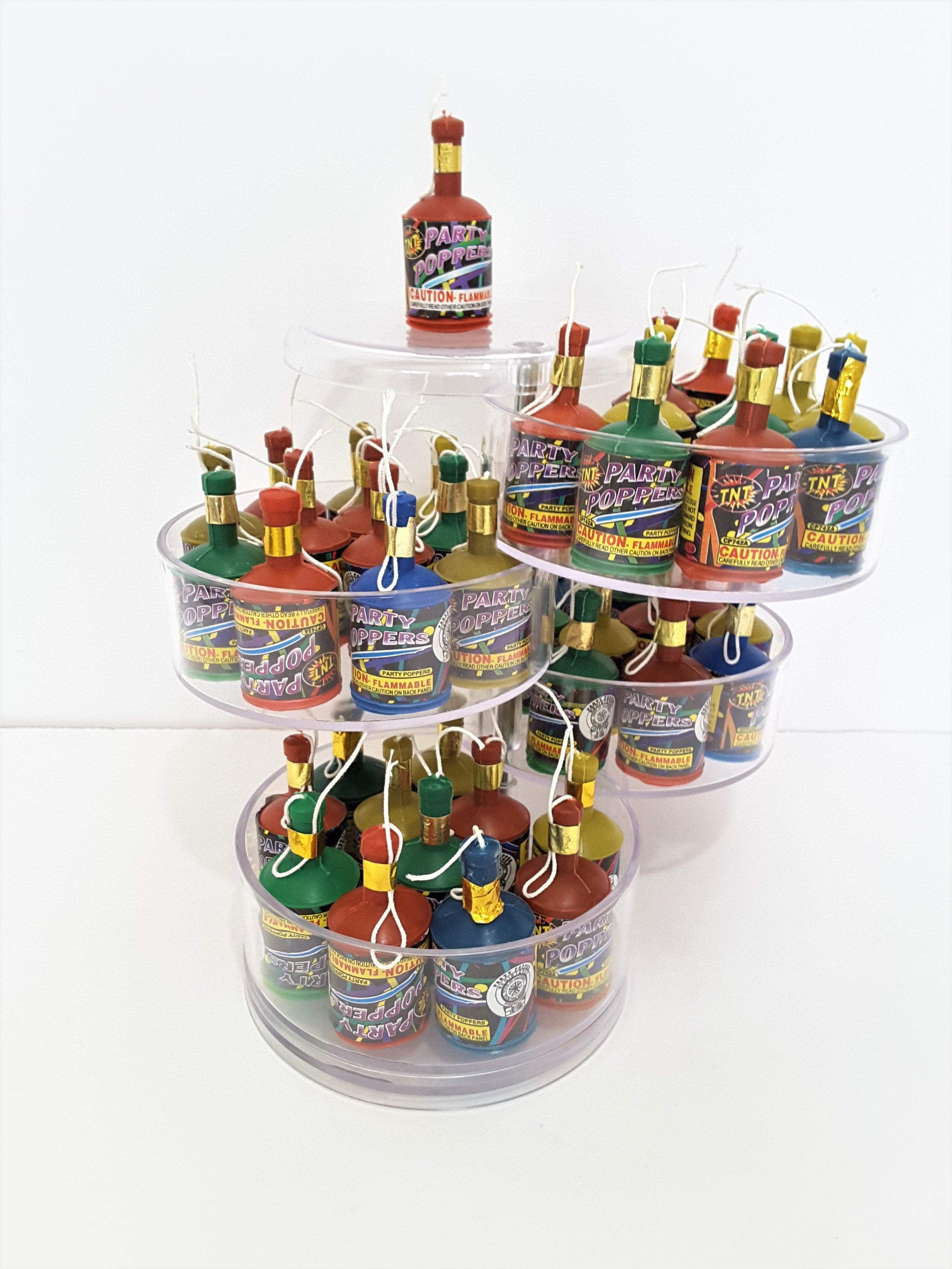 PARTY POPPERS TO ADD TO YOUR 3D GREETING CARD GIFT