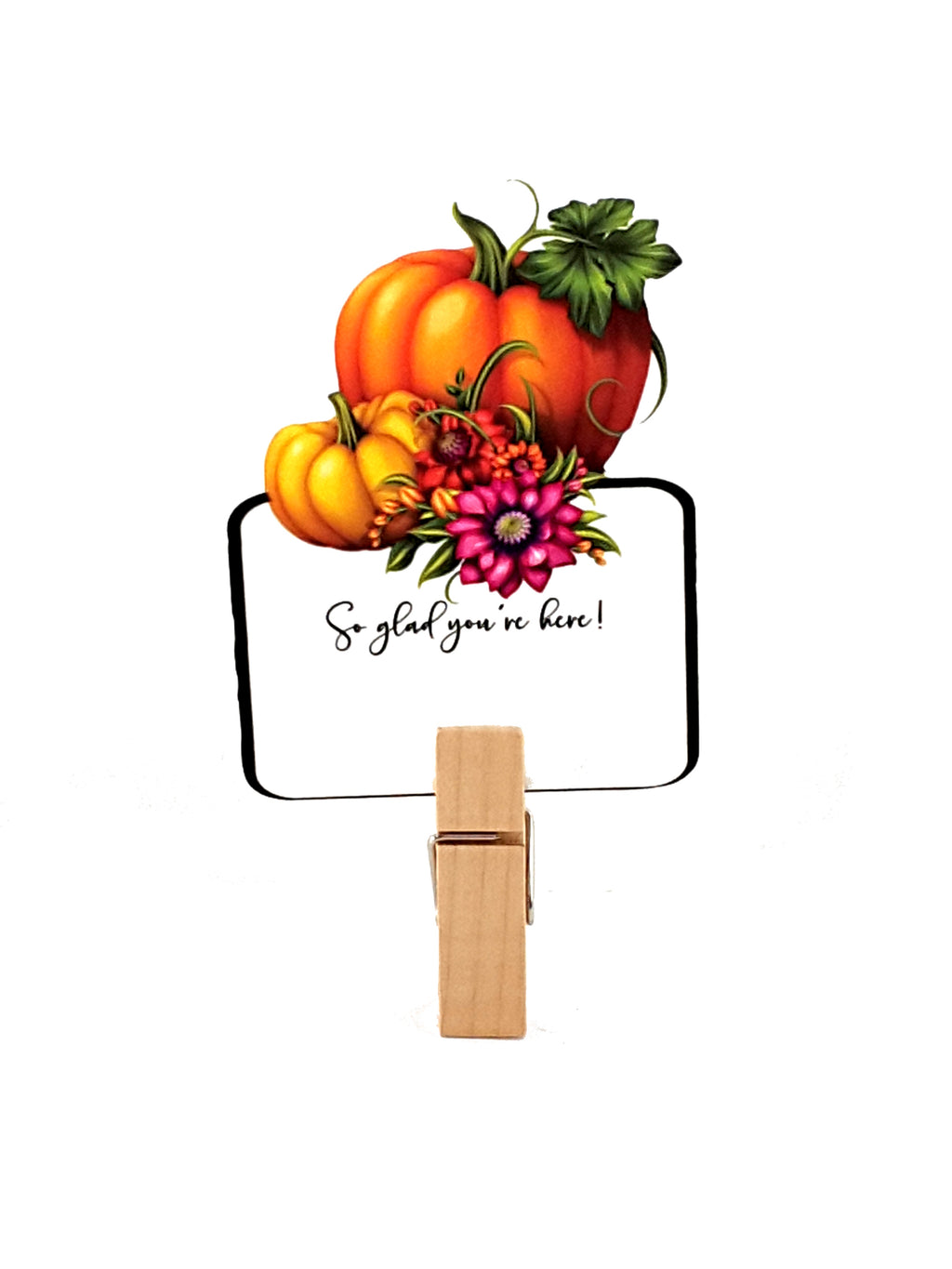 Thanksgiving Pumpkin Placecards