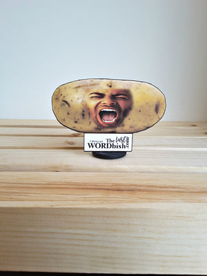 Your/Theirs Face on a Potato Custom 3D All Occasion Card - TheLastWordBish.com
