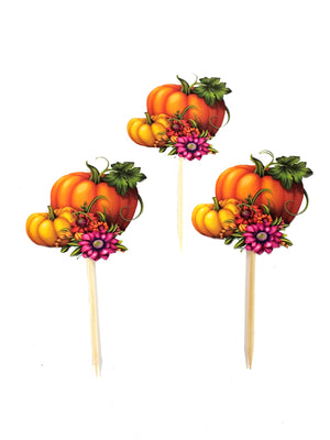 Thanksgiving Cupcake Toppers - TheLastWordBish.com