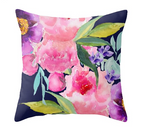 Watercolor Floral Pillow Cover - Free Shipping!