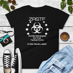 Black or Navy Zombie Apocalypse Survival Tactical Force Unisex T-Shirt - TheLastWordBish.com