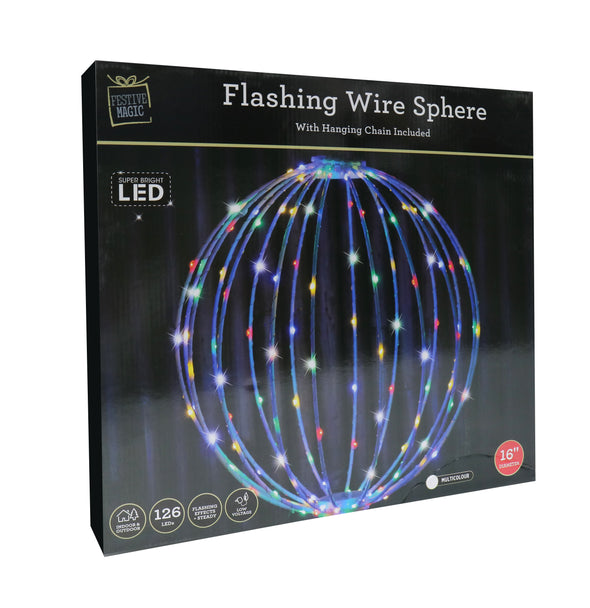 Sphere Flashing Lights