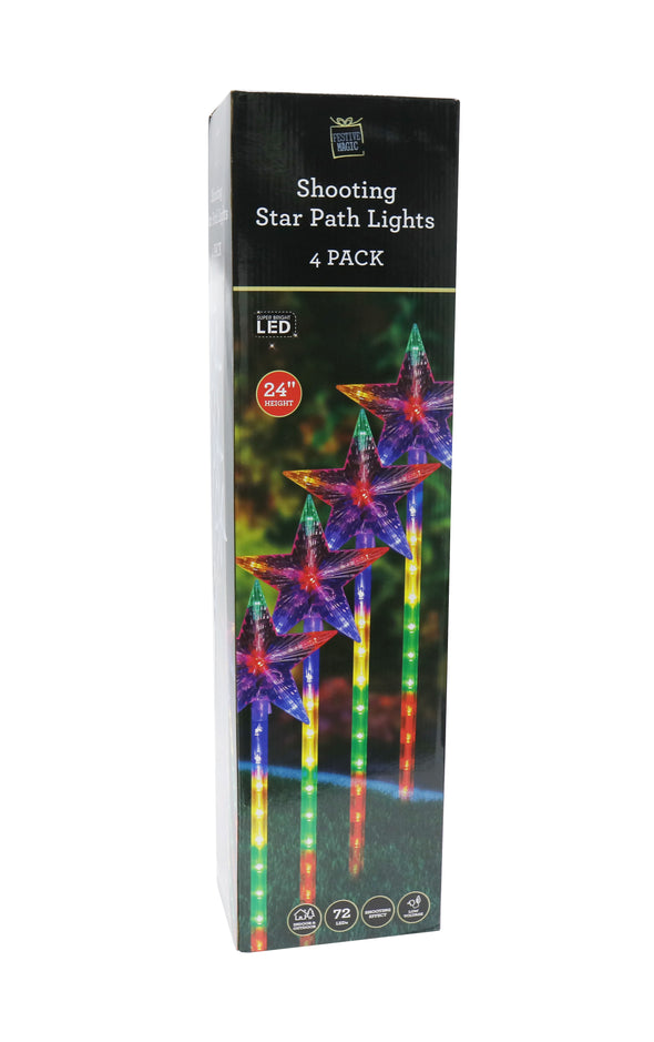 Stake Stars with Lights