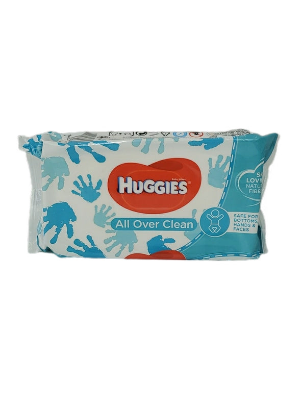 BABY WIPE HUGGIES ALL OVER CLEAN