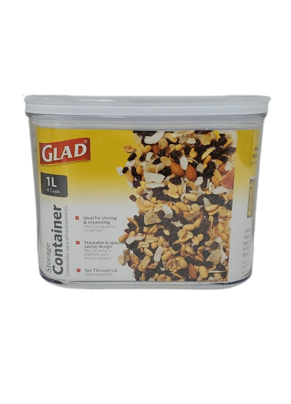 GLAD DRY FOOD STORAGE CONTAINE