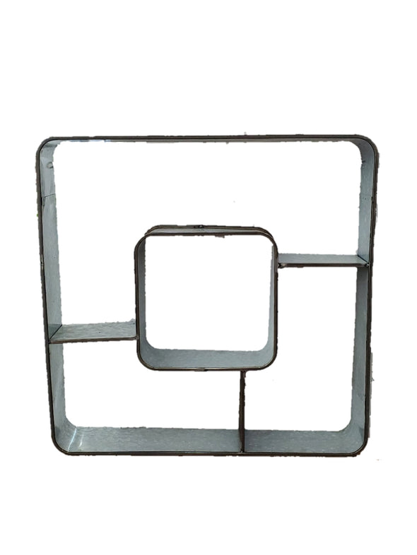 SHELF WALL METAL SQUARE