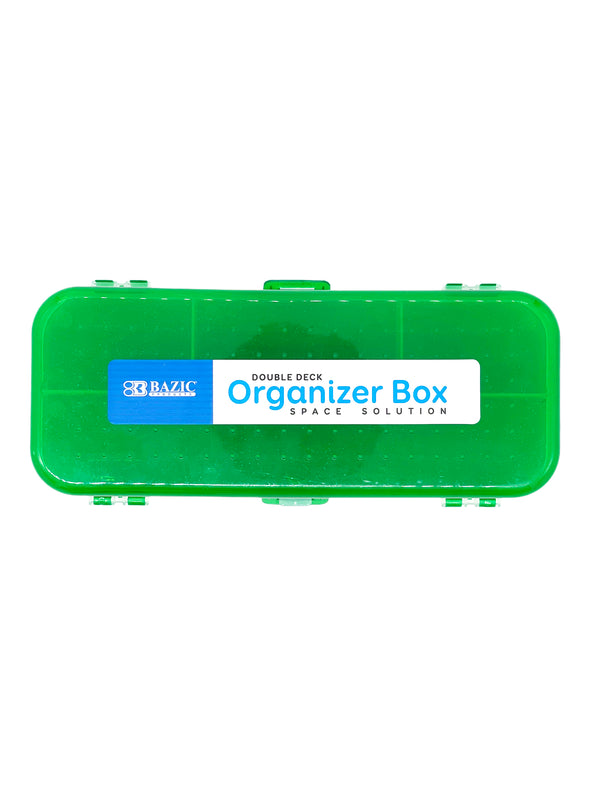 8in DOUBLE DECK ORGANIZER BOX
