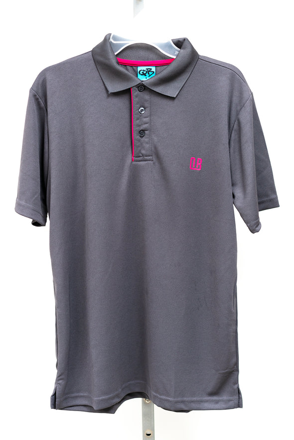 Camisa Polo Caballeros (Charcoal)