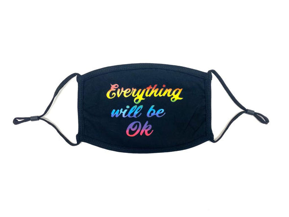 Mascarilla Reusable - Everything Will Be Ok