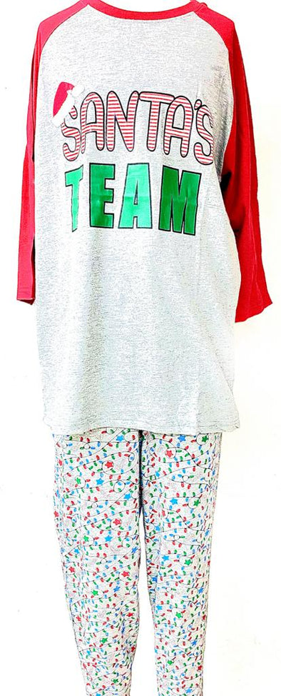 Set de Pijama (Damas) - Santa's Team