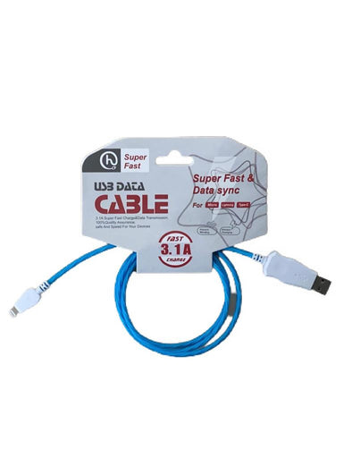USB Data Cable - Iphone (Varios Colores)