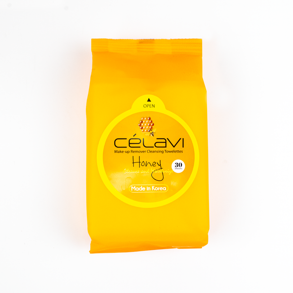 Celaví HONEY Make Up Remover - 30 toallitas