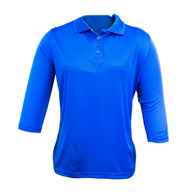 Camisa 3/4 de Uniforme Damas Azul Royal