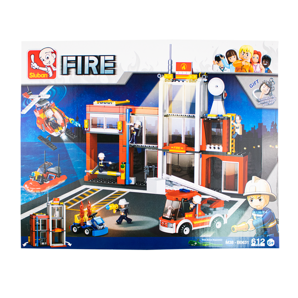 Suban Fire Station 612 pcs