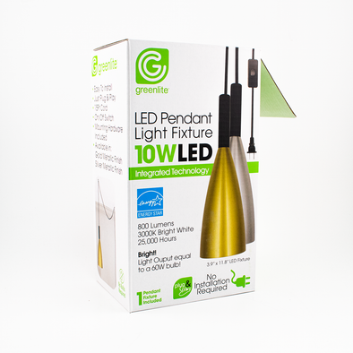 Greenlite Pendant Light