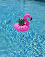 Inflatable Flamingo Drink Holder (3 Pack), Float Your Drinks in Style! - giftfinders