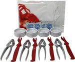 20 Piece Lobster Seafood Dinnerware Set - giftfinders