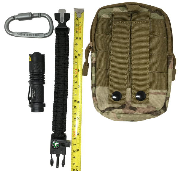 Tactical MOLLE EDC Utility Pouch - 4 Piece Set - giftfinders