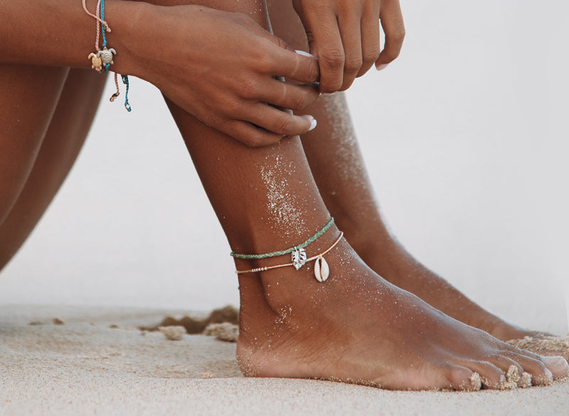 Monstera Anklet