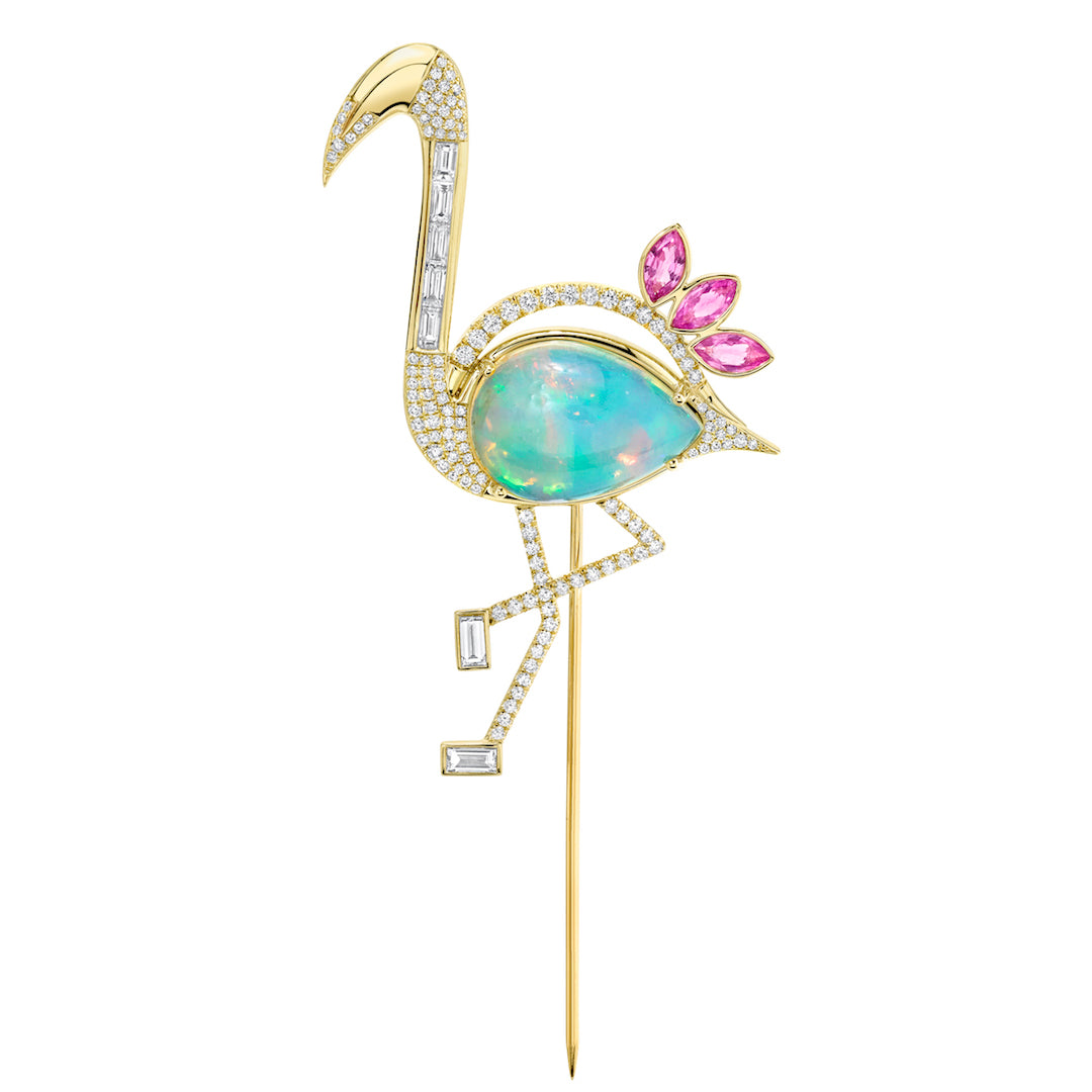 Flamingo Lapel Pin