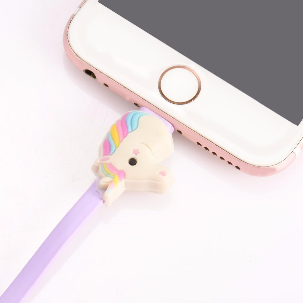 DealsChampion Rainbow Unicorn USB Cable Line For Iphone And IPad