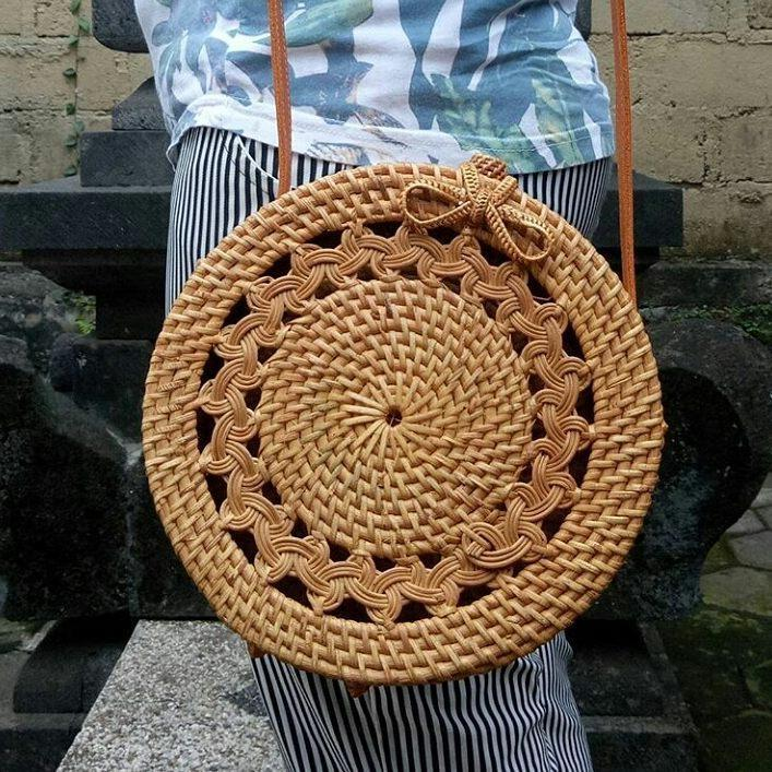 DealsChampion Windy Handwoven Bohemian Straw Bag