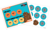 Skill Trek Printed Nugget Board and Sticker Sheet Combo (Rockhoppers)