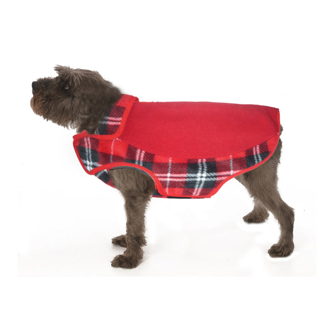 2231 Precision Fit Sporty Printed Fleece Jacket. For Teacup, Small, Puppy, Large Dog to 120 LBS