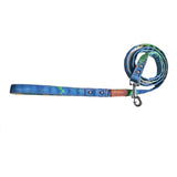 Cloak and Dawggie Denim Splash Print Leash 4556 My Canine Kids