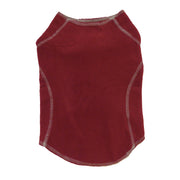 6500 Warm Fleece Sweater for All Dogs. Cool and Cold Weather. Burgundy
