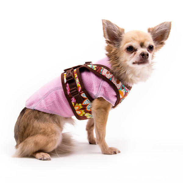 My Canine Kids | Cloak and Dawggie  Fleece Dog Sweater Tiny Dogs and Large Dogs