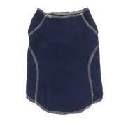6500 Warm Fleece Sweater for All Dogs. Cool and Cold Weather. Navy.