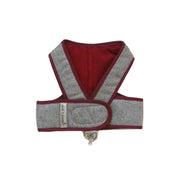 6955 Cloak & Dawggie Flannel Step N Go Harness Burgundy