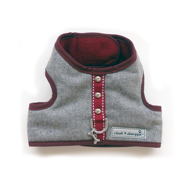 6960 Cloak & Dawggie Flannel Teacup Vest Harness