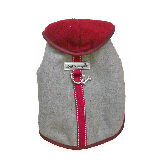 6961 Flannel Teacup Warm Small Dog Coat Up to 8 LBS